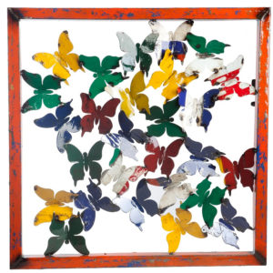 Butterfly Framed Wall Panel image