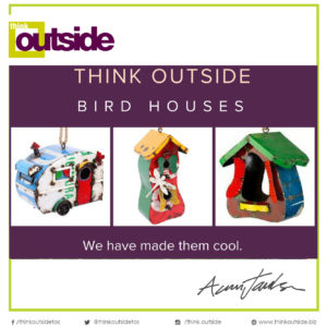 Think Outside Bird Houses image