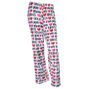 Travel Heart Pajama Pants image
