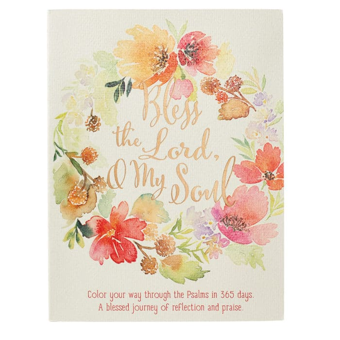 Bless the Lord, O My Soul Coloring Devotional – Psalms image